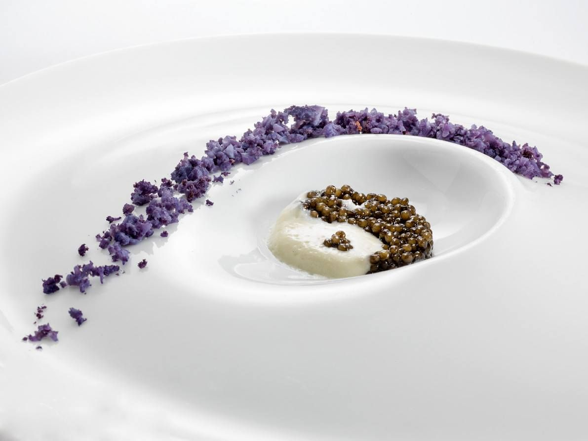 YIN or YANG? A recipe created by chef Heinz Beck with