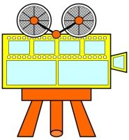Movie Camera Book Report Project: templates, worksheets, rubric, and ...