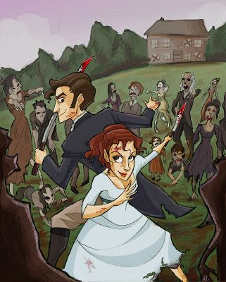 pride and prejudice and zombies fanart by anna rettberg pride and
