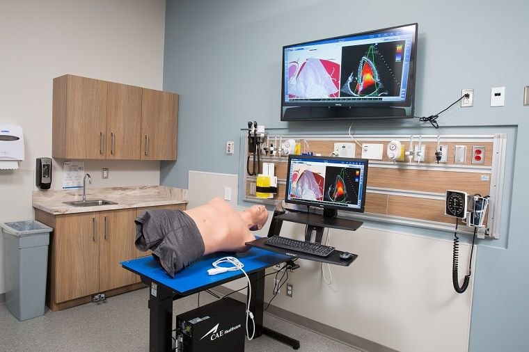 Nait a cae healthcare center of excellence in edmonton