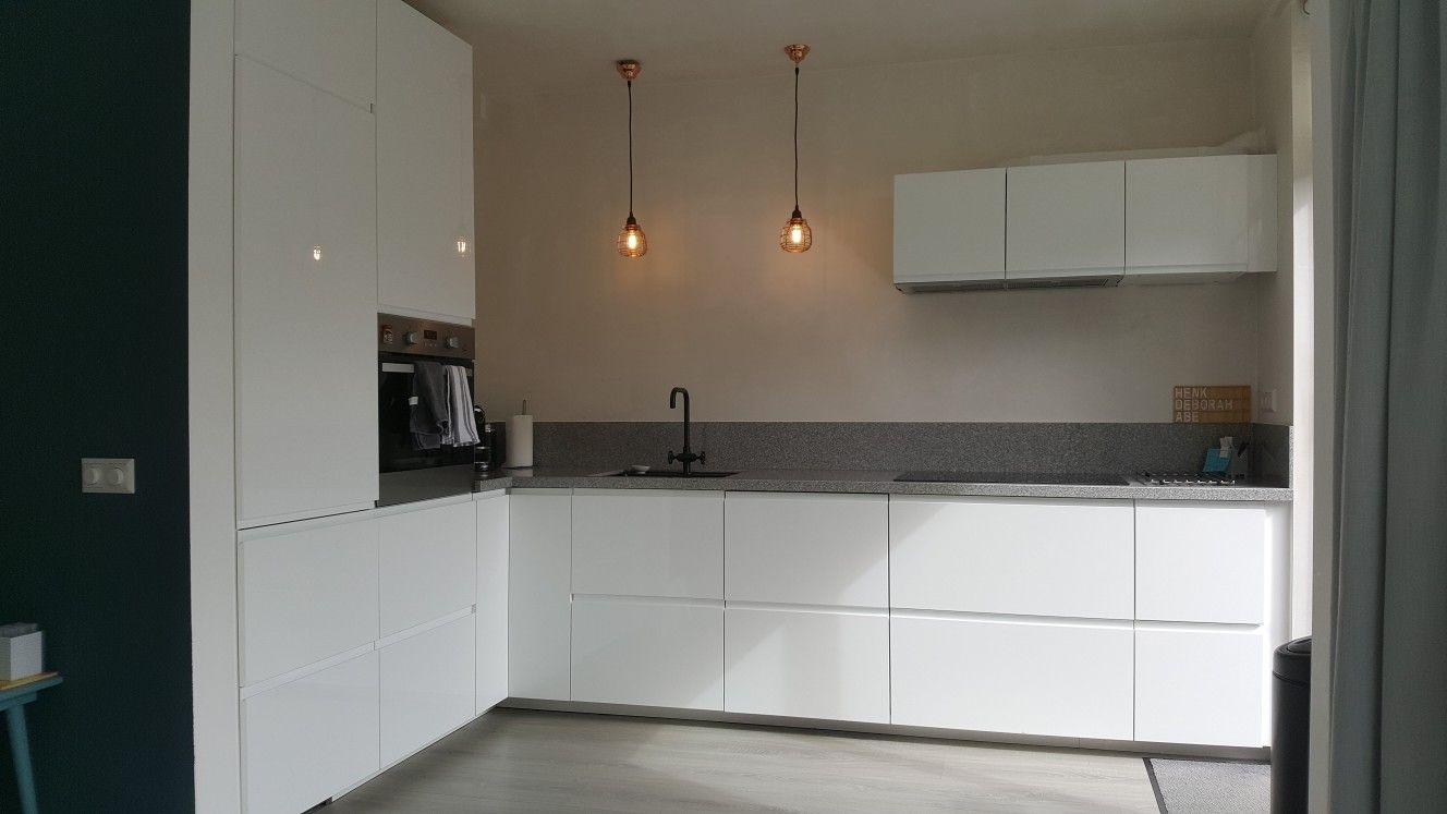 Wonderbaarlijk Ikea kitchen metod and voxtorp (met afbeeldingen) | Ikea keuken YJ-45