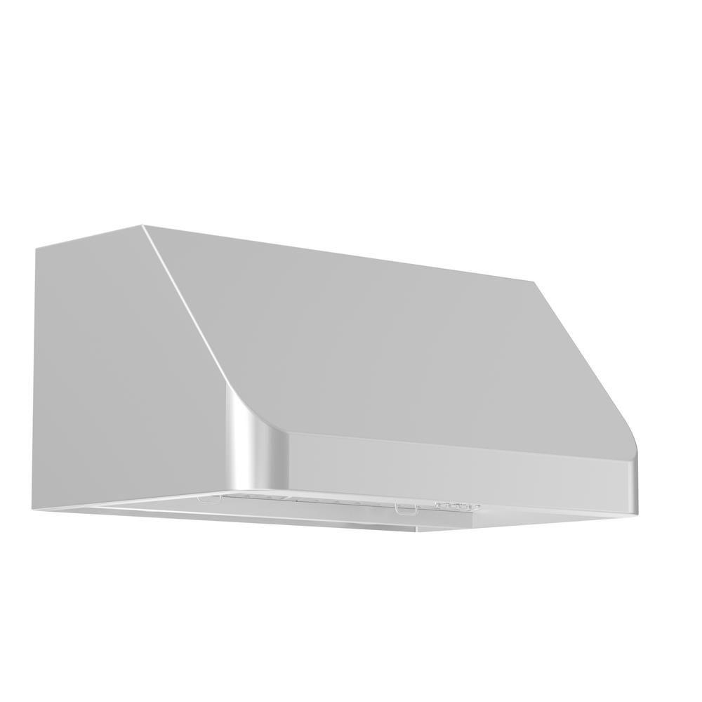 ZLINE Kitchen and Bath Zline 30 in. 1000 CFM Under Cabinet Range ...