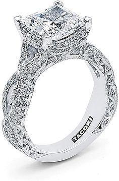 32 Stunning Princess Cut Engagement Rings And