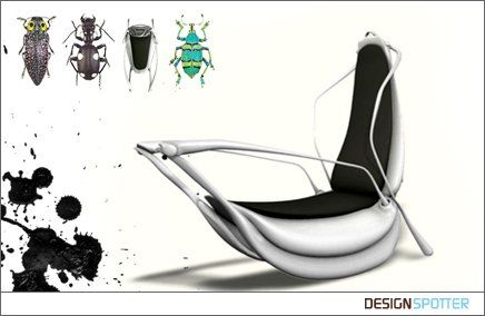 From Gianpaolo Tucci (Italy): insect chair