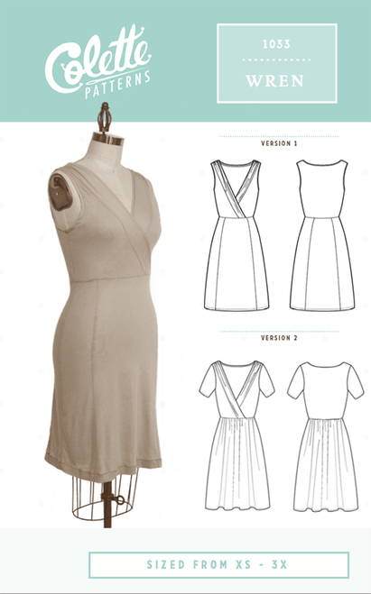 Colette Wren Dress (Beginner)
