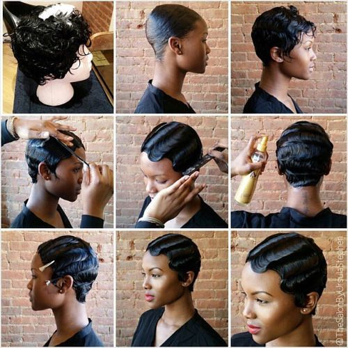 27 Piece Hairstyles For Black People A  Mazing Waves…can You Believe It's A Wig #wigplay Inquire
