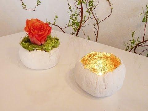 diy: hübsche kleine deko-schalen aus paperclay einfach selbst, Best garten ideen