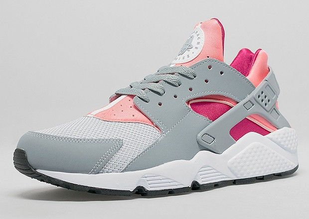 air huarache blanche rose
