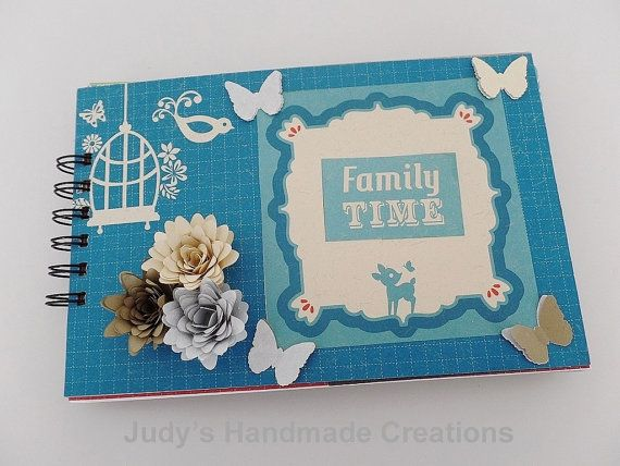 Family Time Mini Album Family Mini Album by JudyHandmadeCreation