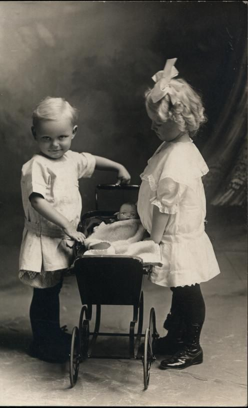 Early Real Photo Postcards of Little Children!