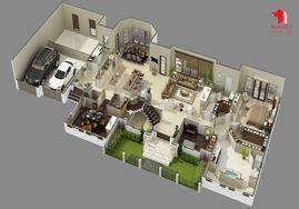 3d Floor Plan Design Interactive 3d Floor Plan Floor Plan Design Luxury House Plans House Plans