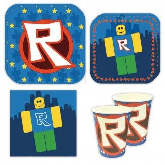 Robotz Party Supplies Packs For 16 Guests Birthday Party Supplies Decoration Birthday Party Crafts Birthday Party Supplies
