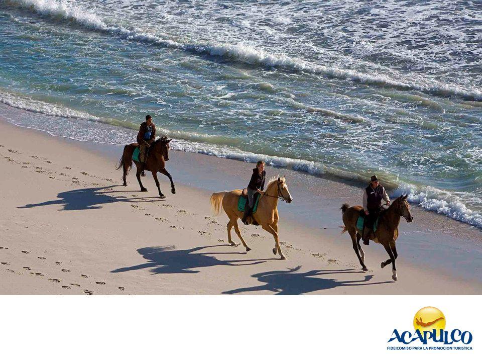Paseo a caballo en Acapulco. INFORMACIÓN SOBRE ACAPULCO_2
