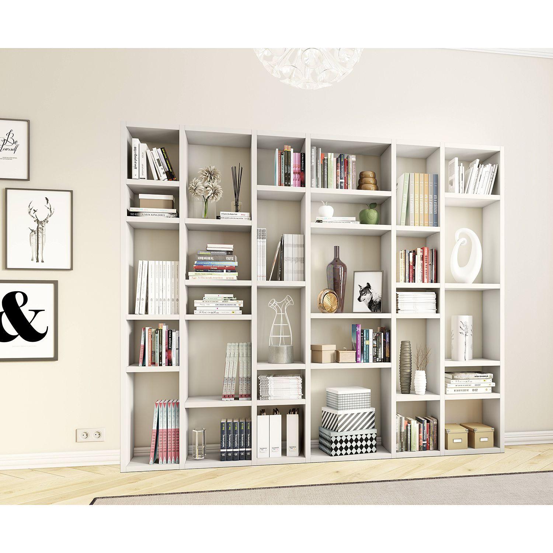 Büroregale   Regale aus Holz & Metall mühelos online kaufen   home24