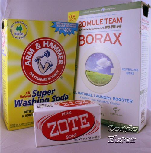 How To Make Powdered High Efficiency Laundry Detergent With