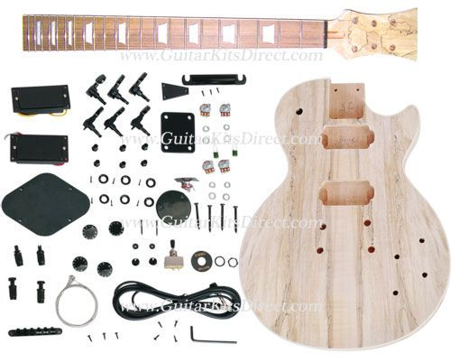 Guitar Kits Direct Lp 900st Diy Guitar Kit Carved Mahogany With Spalted Maple Top Usd 185 41 Http Www Guitarkitsdirect C Lutheria Les Luthiers Guitarras