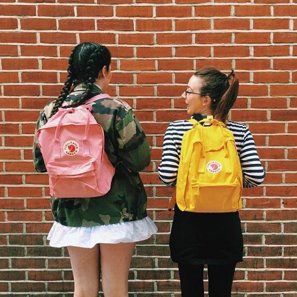 Fjallraven Kanken Classic Pink Backpack In 2019 Kanken