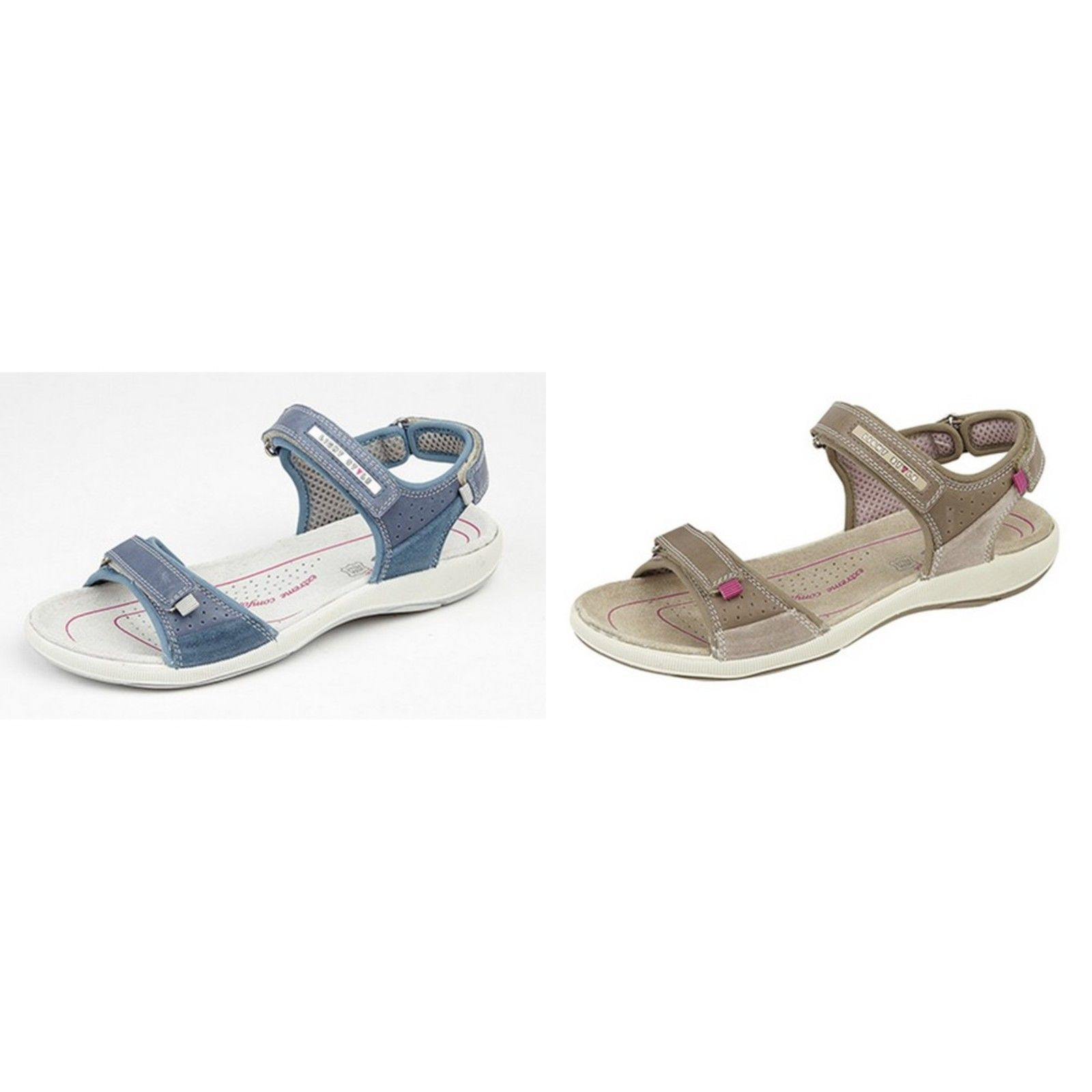 Womens/Ladies 2 Touch Fastening Sports Sandals
