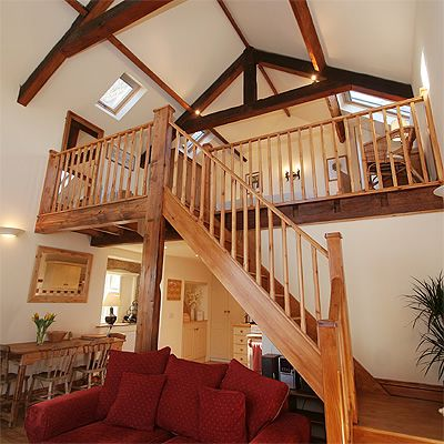 Mezzanine floor barn conversion google search house for Mezzanine floor ideas