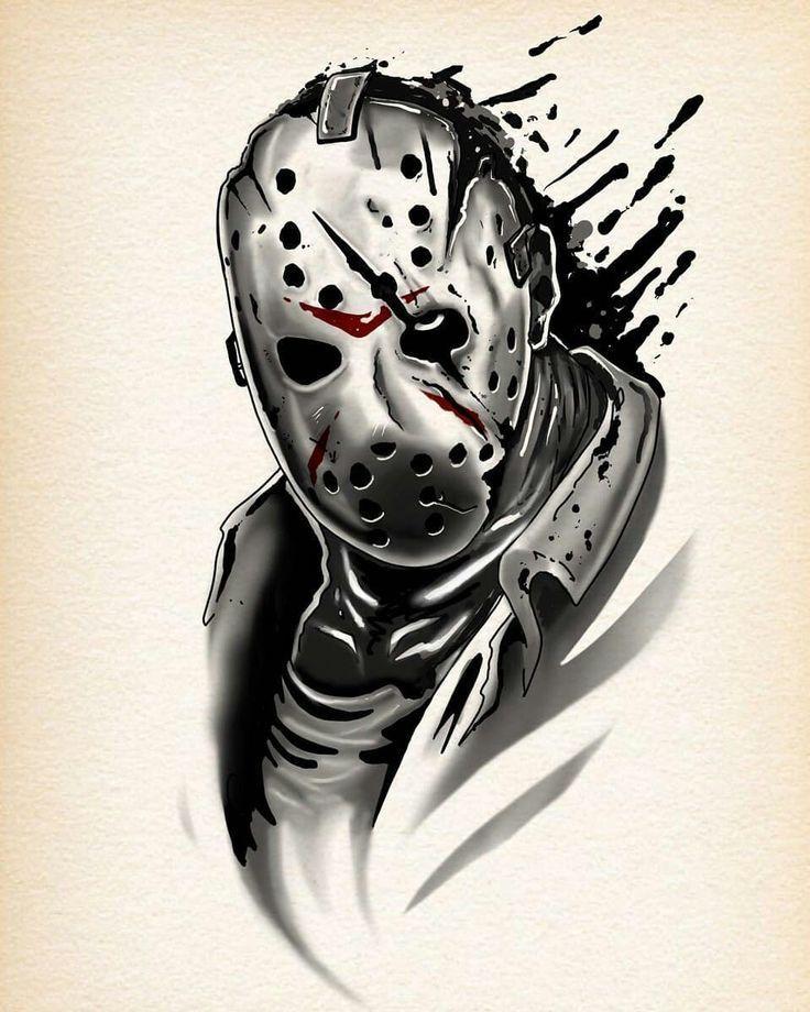 Jason Voorhees Lecker Site Tatuajes De Terror Dibujos De Terror Arte De Comics
