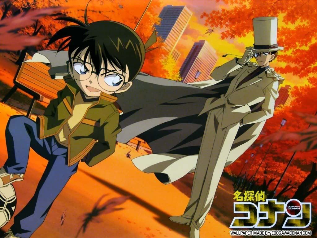 Do tu think Kaito and Shinichi are cousins? (According to episode 472 &  473) - detective conan - fanpop in 2021 | Detective conan, Detective conan  wallpapers, Conan