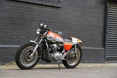"""Racing Cafè: Honda CB 750 K7 """"Urban Scrambler"""" by Steve Lowe"""