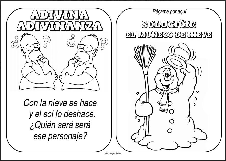 Adivinanzas para navidad comprensi n lectora pinterest - Trabajos manuales de navidad para ninos de primaria ...