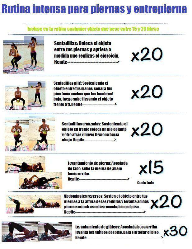 rutina de ejercicios para adelgazar intenso