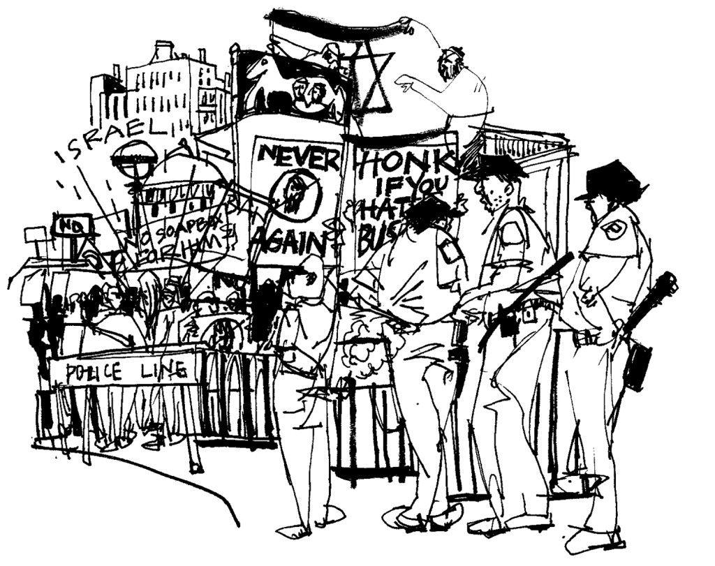 Reim.Columbia protest