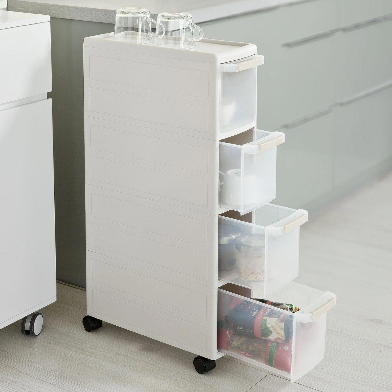 10 Idee Salvaspazio Low Cost Per Bagni Piccoli Quando Si Hanno A Disposizione S Cajones De Almacenamiento De Plastico Almacen Ikea Muebles Para Banos Pequenos