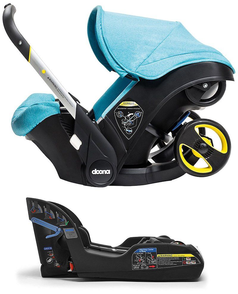 Doona Infant Car Seat The Car Seat That Transforms into a