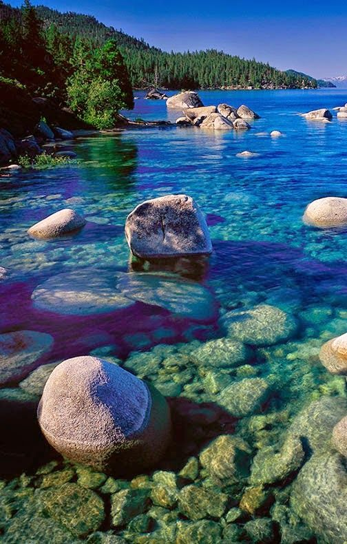 Sand Harbor San Antonio Usa Beach