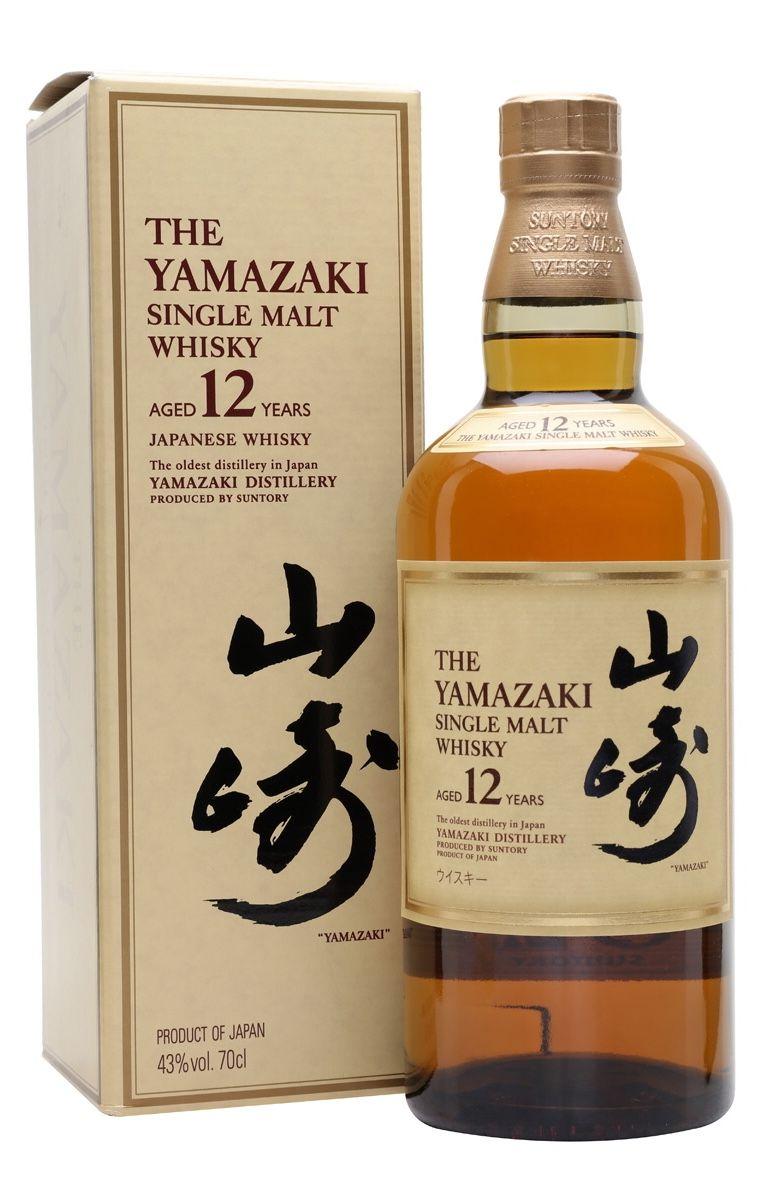 Suntory Yamazaki 12 Year Old Japan Japanese Whisky Whisky Malt Whisky