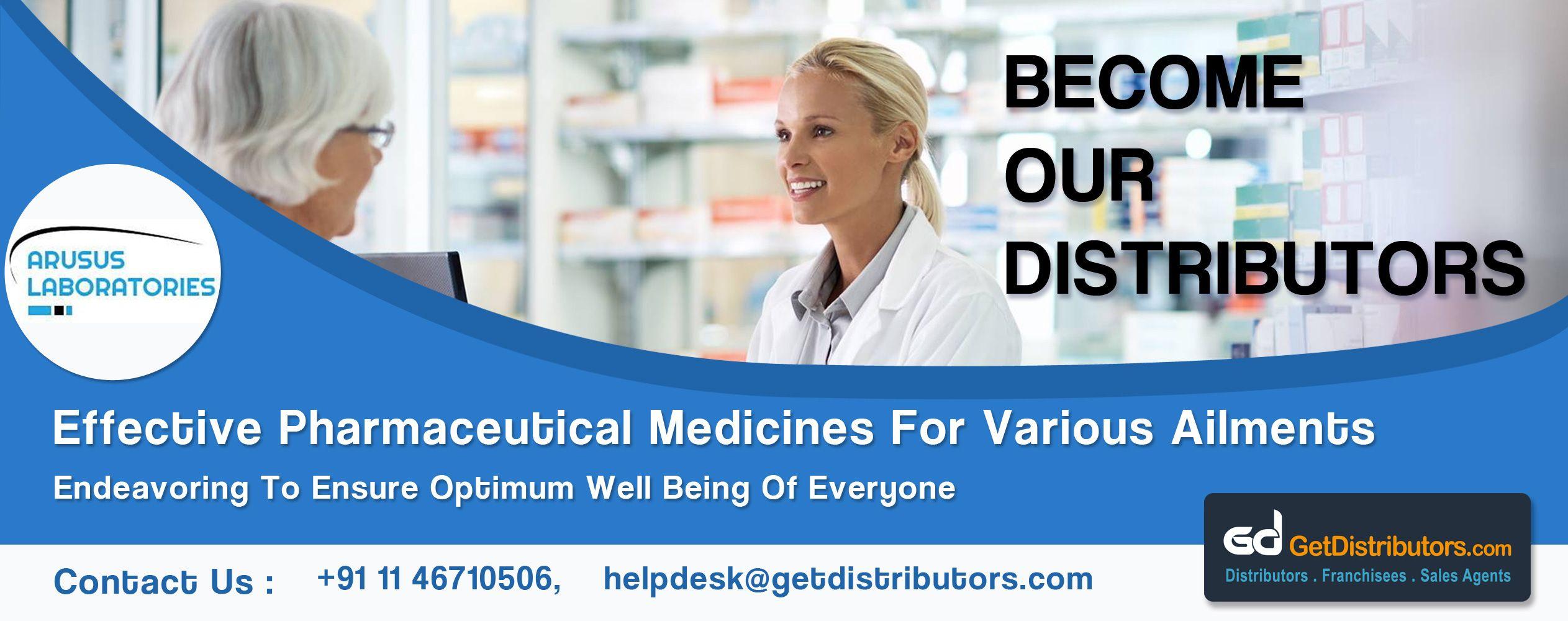Arusus laboratories requires distributors for