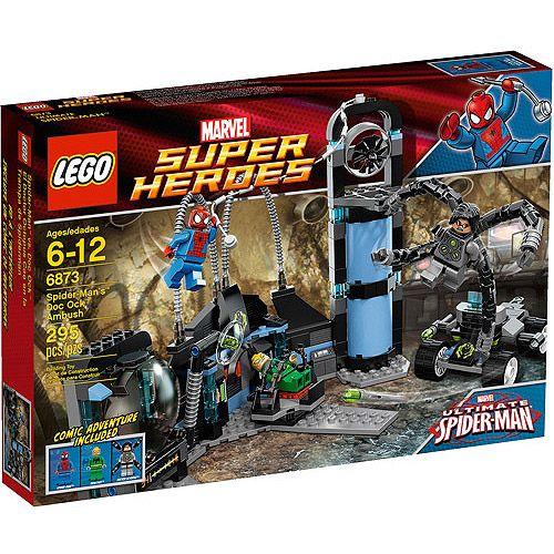 LEGO Super Heroes Spiderman's Doc Ock Ambush Play Set: Building Blocks & Sets : Walmart.com