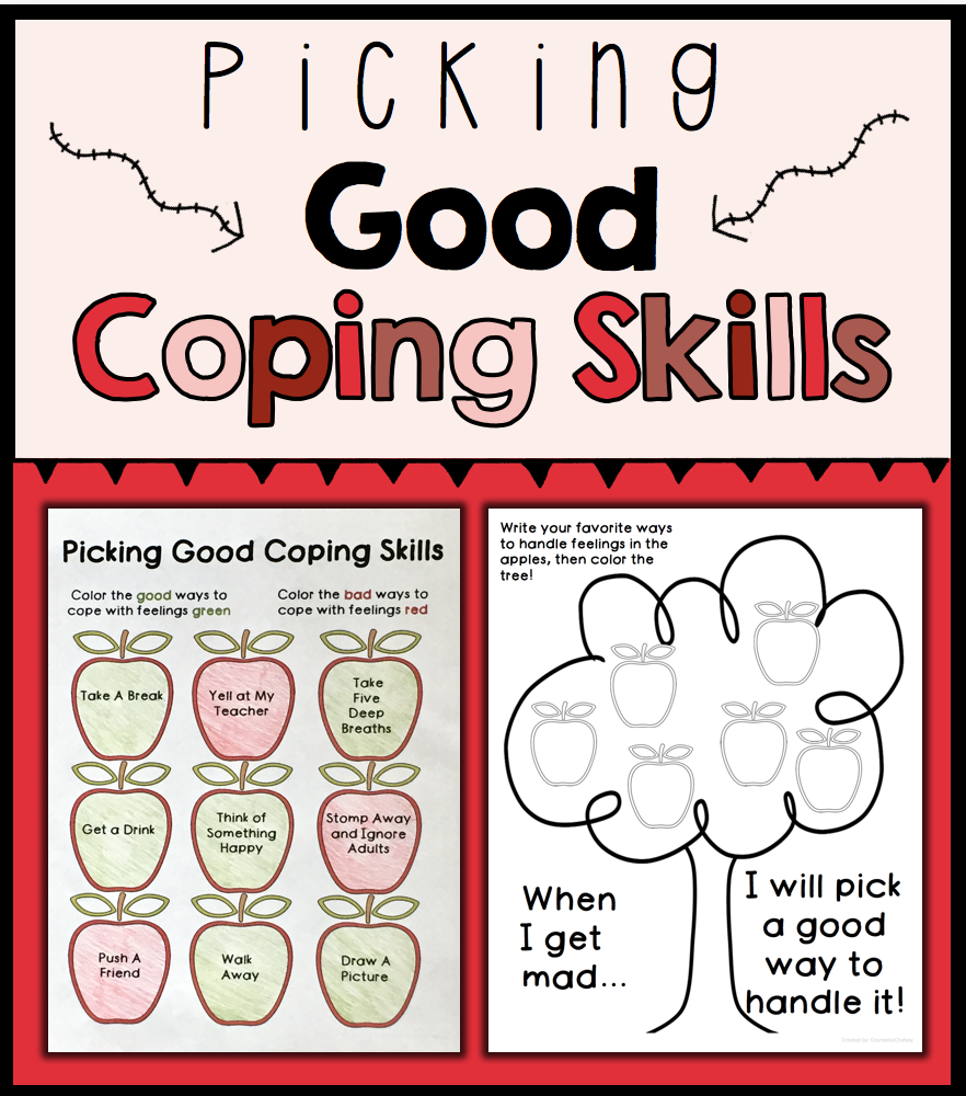 worksheet Anger Management Coping Skills Worksheets coping skills activities student learning and picking good skills