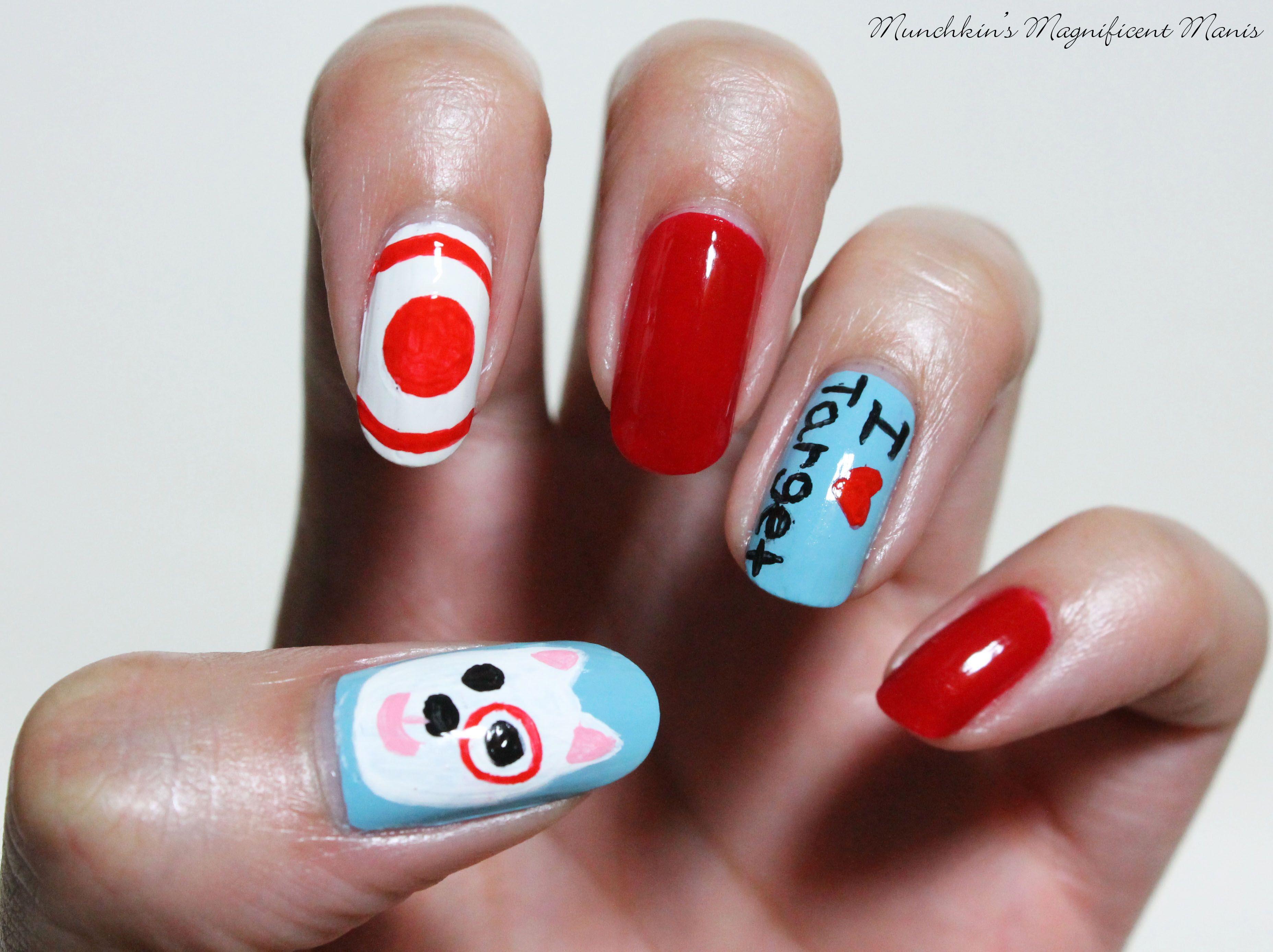 Target Time Target Nail Design Nail Designs Nails My Nails