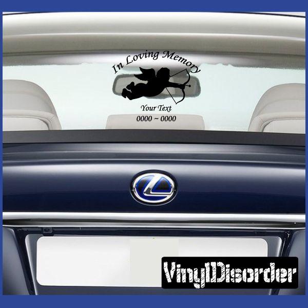 Dog Great Dane In Loving Memory Custom Car Or Wall Vinyl Decal - Custom vinyl decals australia