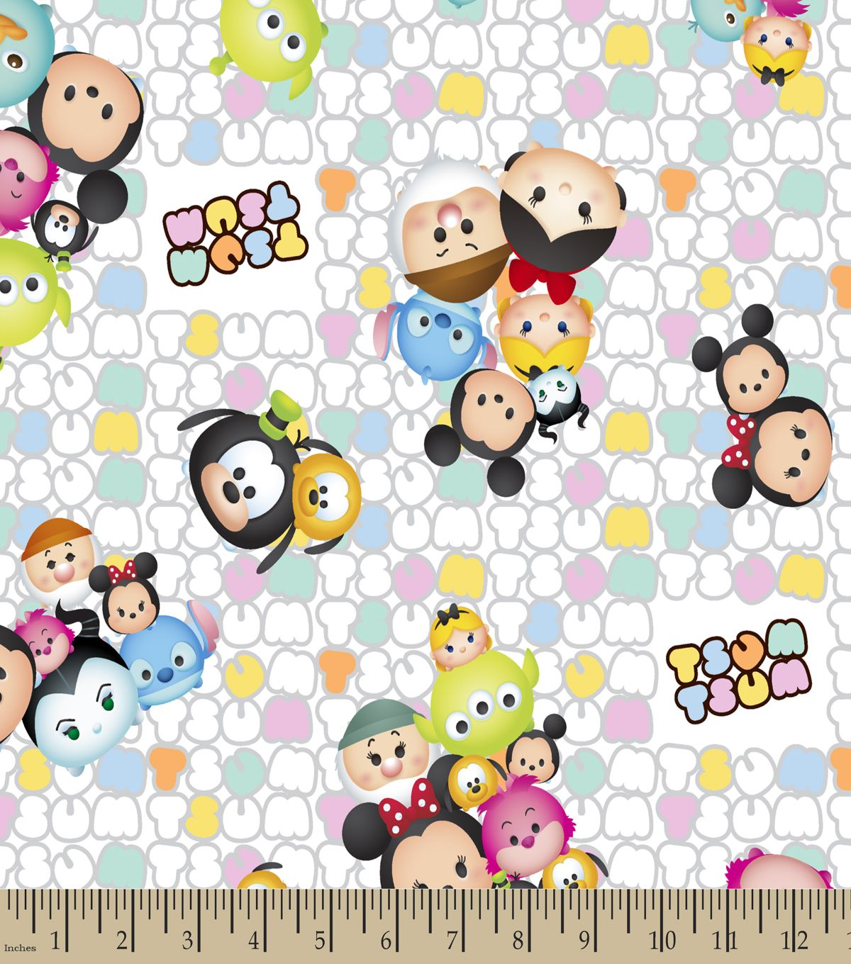Tsum Tsum Patterned Print Fabric | Fabric Finds with JOANN ...