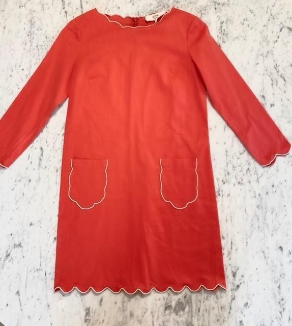 Eva Coral Dress by Vanessa Bruno Athe – The Perfect Provenance