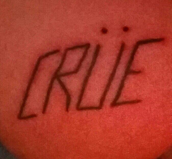 Motley crue tattoo, simple