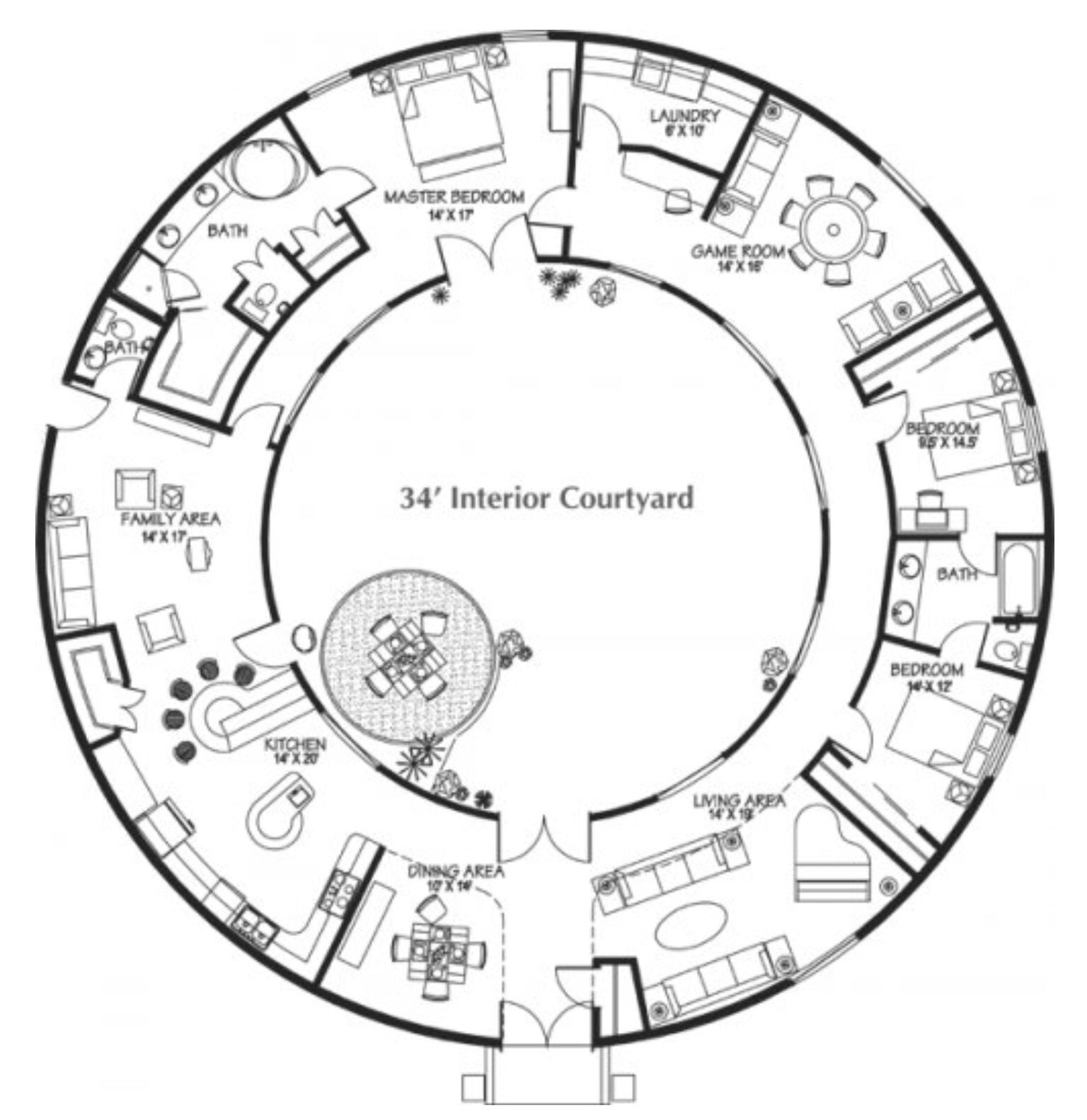 Round Dome Homes: Round House