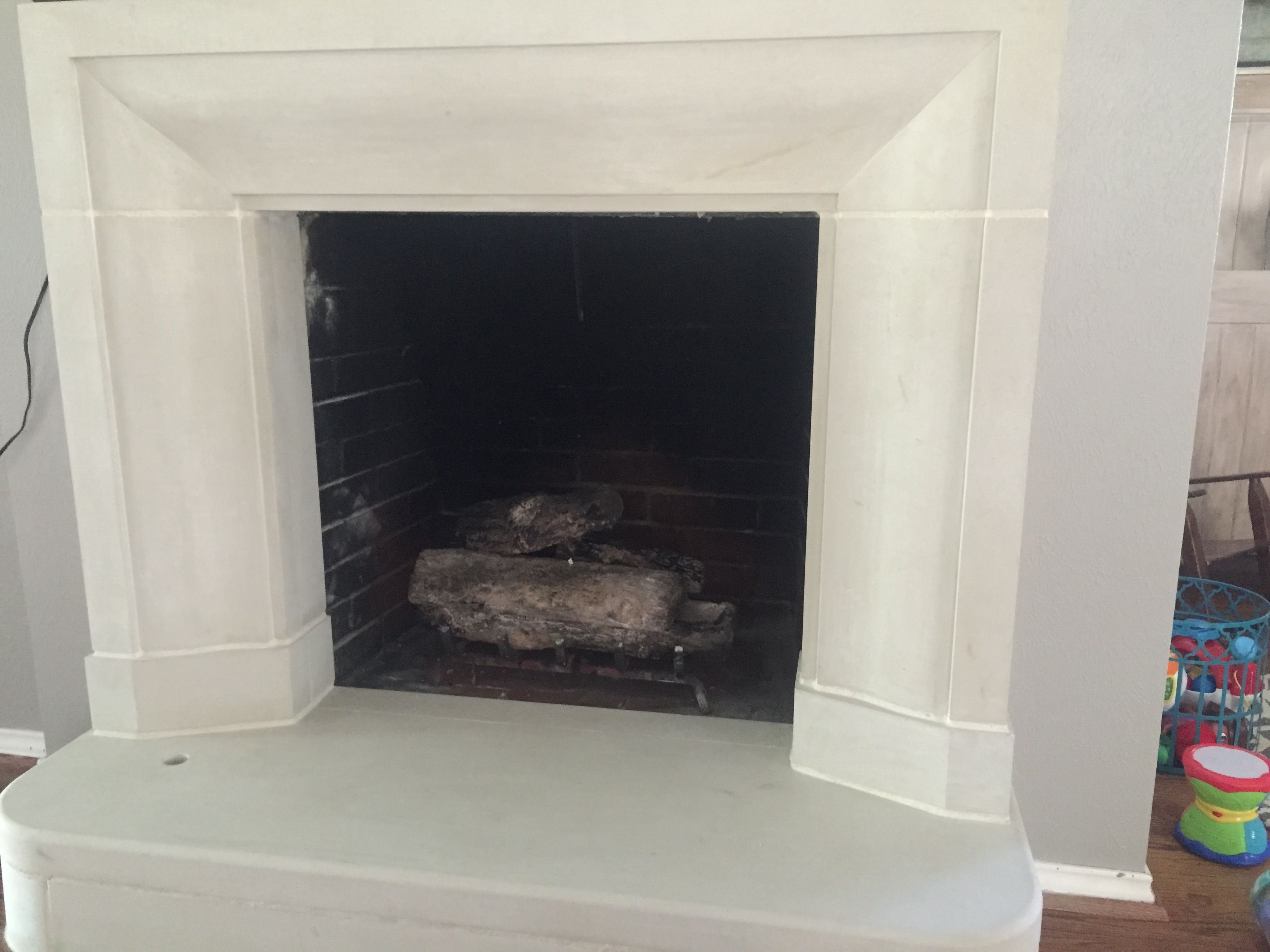 Buff Lueders Smooth Fireplace Surround Fireplace Surrounds