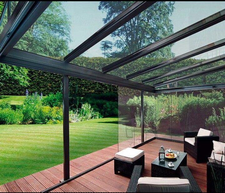 Glass Enclosed Deck Rooftop Design Patio Room Patio Design