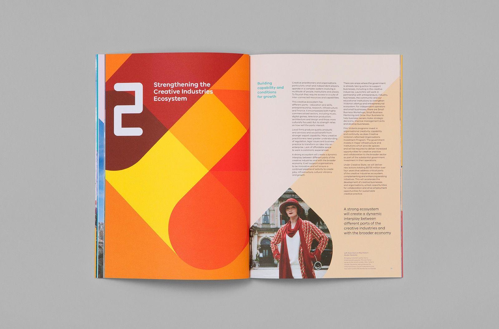 Creative Book Cover Design Samples ~ Creative victoria by studio brave branding print graphic