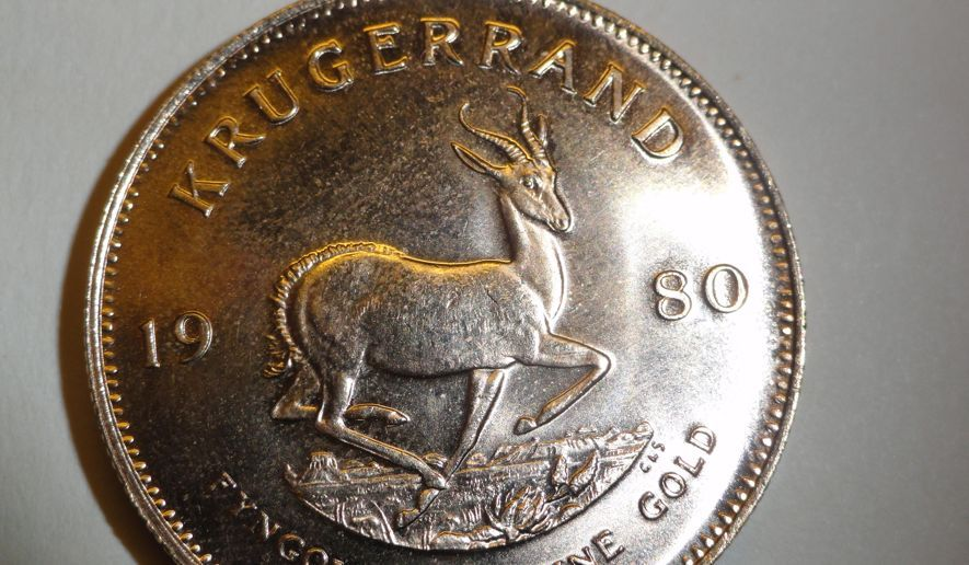 Gold Krugerrand Worth 1 200 Dropped In Red Kettle Washington Times