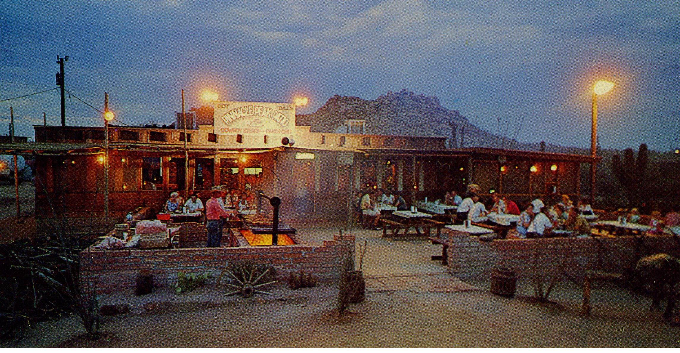 A view of Pinnacle Peak Patio\'s patio circa 1961. | Our History ...