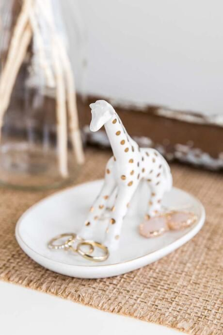 Giraffe Ring Holder $12.00