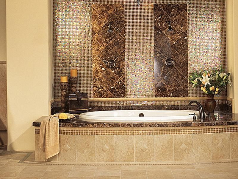 Web Photo Gallery Elegant bathroom tile ideas