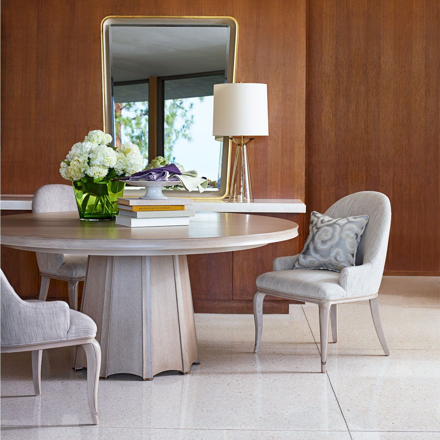 Casual Dining Room Ideas With Couches: THE BARBARA BARRY COLLECTION